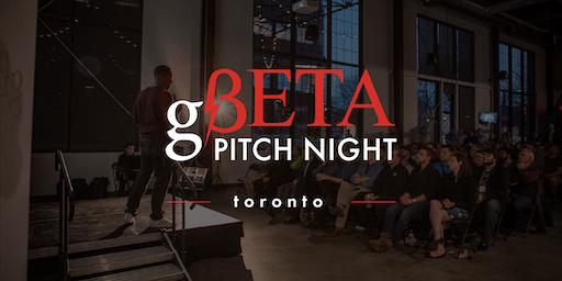 gBETA  Toronto Pitch Night  Fall 2019