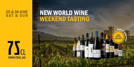New World Wine Weekend Tasting tickets