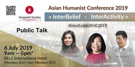 Asian Humanism Conference tickets