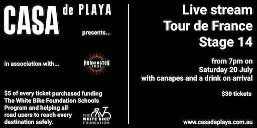 Casa de Playa presents Tour de France Stage 14