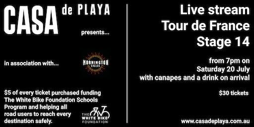 Casa de Playa presents Tour de France in association with Mornington Cycles