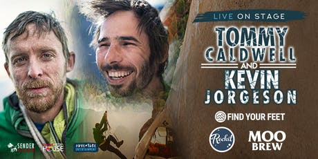 Tommy Caldwell and Kevin Jorgeson Live on Stage with The Dawn Wall supported by Find Your Feet tickets
