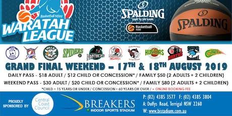 NSW Spalding Waratah League Finals tickets
