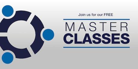 NZMA Sylvia Park Free Master Classes  tickets