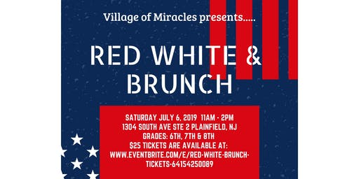 Red White & Brunch