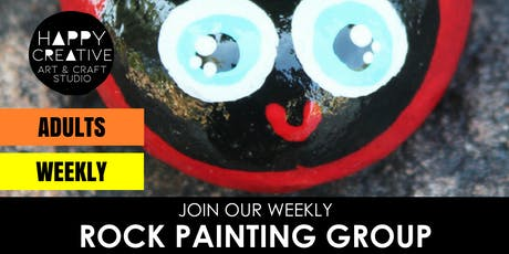 Weekly Rock Painting Group (Adults) tickets