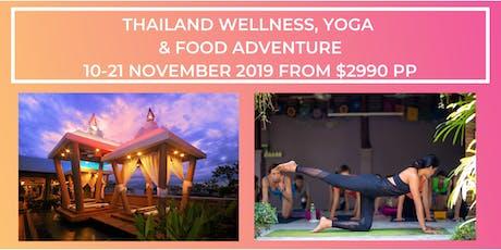Thailand Wellness, Yoga & Foodie Adventure tickets