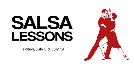 Salsa Lessons (drop-in class - July)