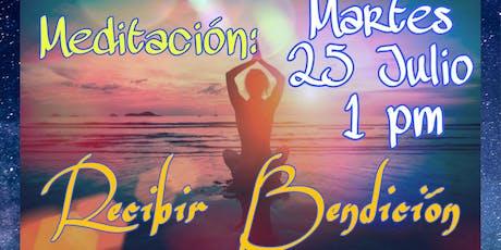 """Meditación Presencial: """"RECIBIENDO BENDICIÓN """" tickets"""