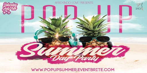 POP Up Summer Day Party