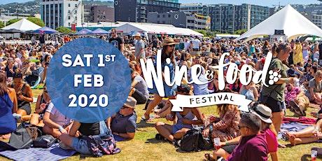 Wellington Wine & Food + Craft Beer Festival 2020 tickets