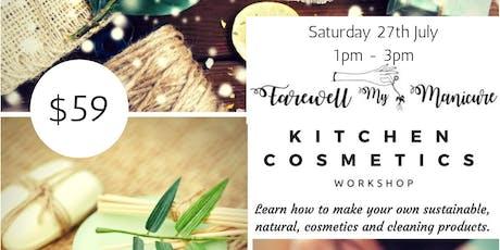 Kitchen Cosmetics Workshop tickets