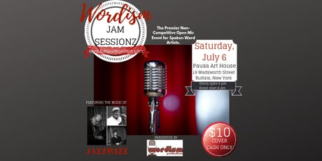 WORDISM Jam Sessionz - Open Mic Spoken Word Event with Music  tickets