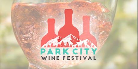 Park City Wine Festival 2019 tickets