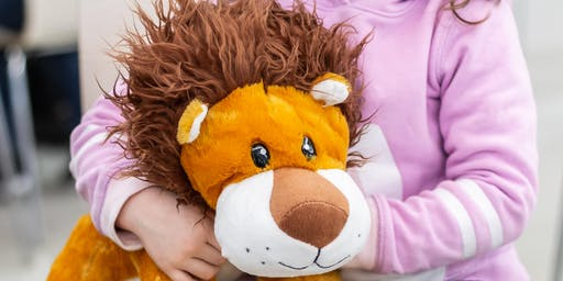 Wild Ones: Create your own soft toy lion