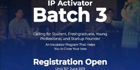 IP ACTIVATOR Pitch Battle Batch 3 tickets
