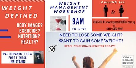 Weight Management Workshop tickets