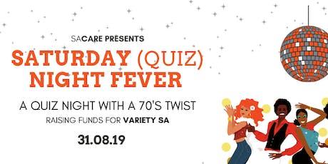 Saturday Night (Quiz) Fever tickets