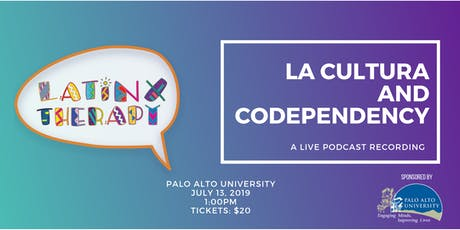 Latinx Therapy: La Cultura and Codependency tickets
