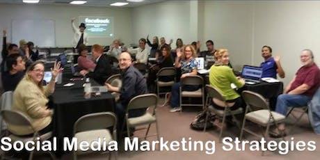 Social Media Marketing Strategies 101 tickets
