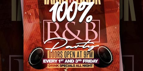 TakinItBack 100% R&B Party  tickets