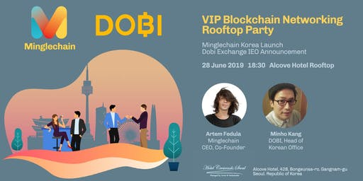 VIP Blockchain Networking Rooftop Party