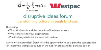 Disruptive Ideas Forum