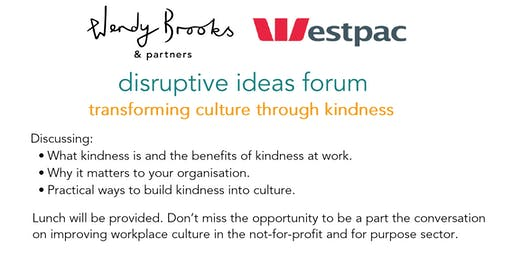 Disruptive Ideas Forum