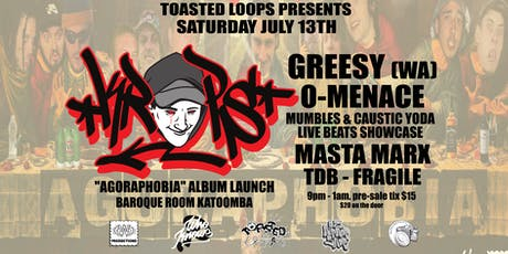 Toasted Loops - KropsMan Agoraphobia Launch tickets