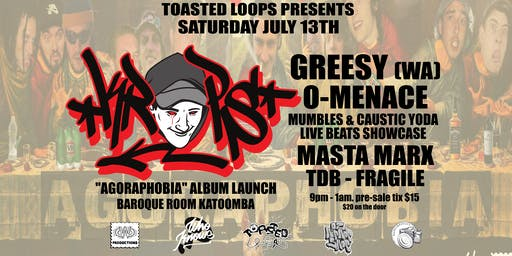 Toasted Loops - KropsMan Agoraphobia Launch
