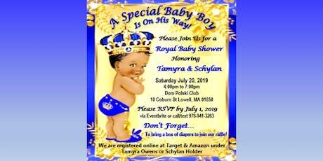 Schylan & Tamyra's Baby Shower tickets