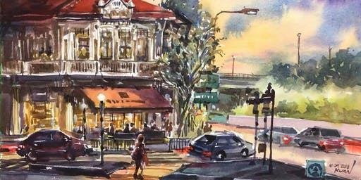 Professional Watercolour Painting Lessons