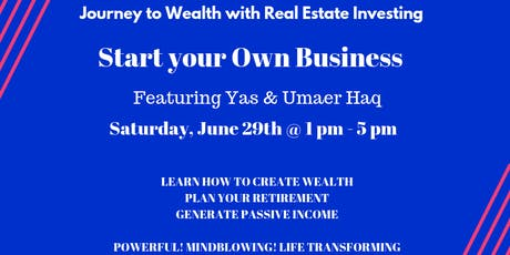 Journey to Wealth through Real Estate Investing tickets