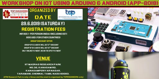 WORKSHOP ON IOT USING ARDUINO & ANDROID (APP-2019)