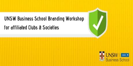 Compulsory UNSW Business School Branding Workshop for ClubSocs  tickets