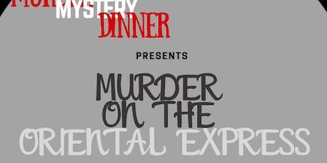 Murder on the Oriental Express tickets
