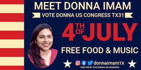 Vote Donna US Congress Round Rock Inauguration tickets