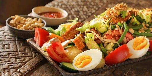 Make Indonesian Gado Gado, Beef Rendang & Cendol - Healthy & Gluten-free!