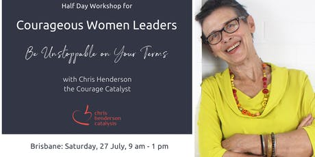 Half Day Workshop for Courageous Women Leaders tickets
