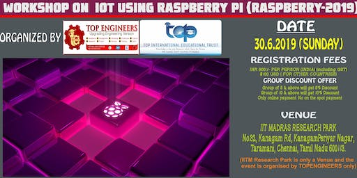 WORKSHOP ON  IOT USING RASPBERRY PI (RASPBERRY-2019)