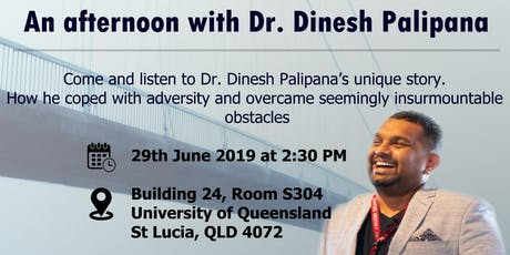 Afternoon with Dr.Dinesh Palipana tickets