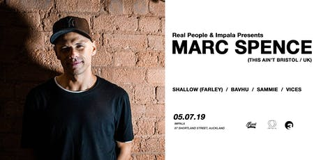 Marc Spence | Impala tickets