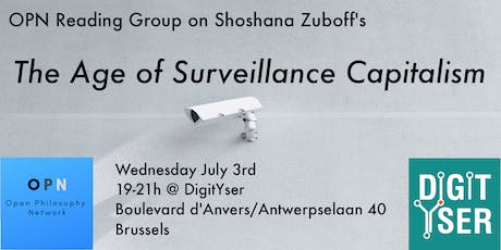 OPN Reading Group: The Age of Surveillance Capitalism by Shoshana Zuboff (5th Meeting) tickets