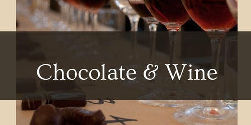 Chocolate Release & Surprise Wine Tasting