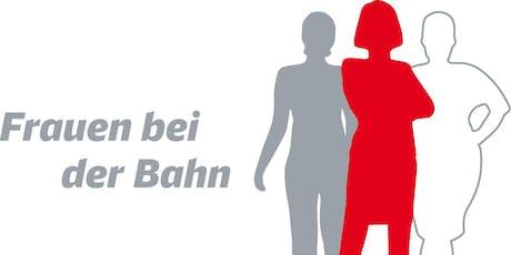 Jubiläumsveranstaltung 5 Jahre Netzwerk Frauen bei der Bahn tickets