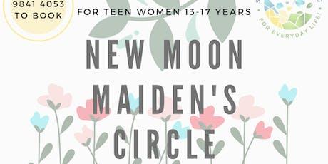 New Moon Maiden's (TEENAGE) Circle tickets