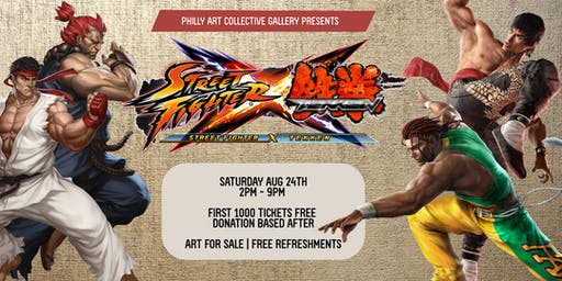 FREE EVENT: Street Fighter VS Tekken Exhibit