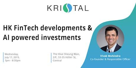 HK FinTech developments & AI powered investments [HK] tickets