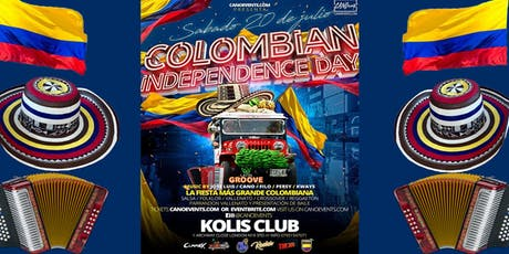 Colombia Independence Day Party tickets