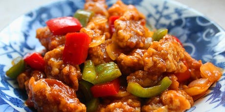 Make Healthy Sweet & Sour Pork from scratch and Sweet & Sour Soup while learning Chinese tickets